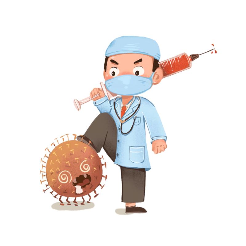千库网_消灭病毒医生打针新冠状病毒肺炎武汉身体健康_元素编号12811626