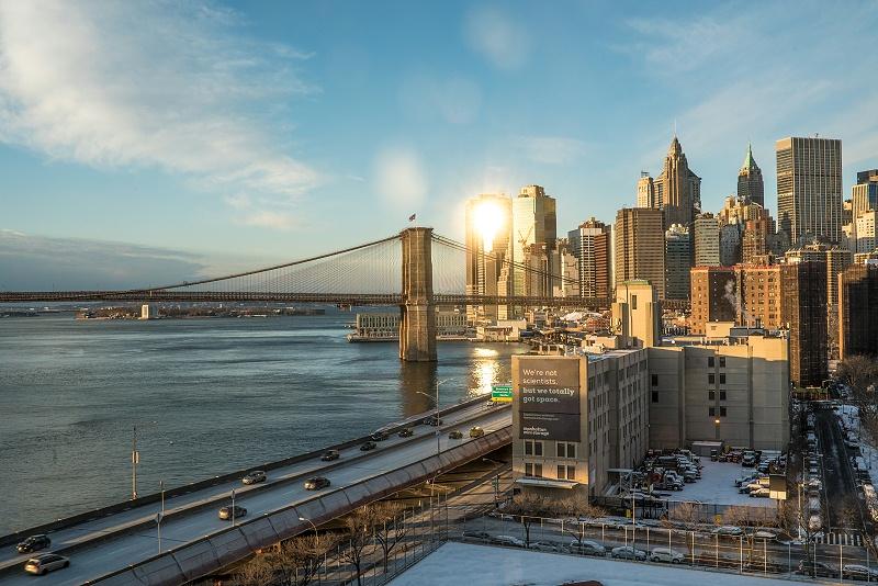 千库网_清晨的纽约曼哈顿_摄影图编号76144