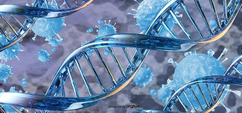 千库网_3ddna基因序列病毒背景_背景编号5983136